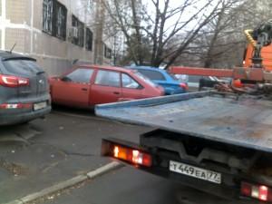 Фото-фиксация (фото 2) момента попытки должностных лиц правительства Москвы злоупотребления юридическими полномочиями.