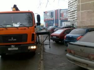 Фото-фиксация (фото 4) момента попытки должностных лиц правительства Москвы злоупотребления юридическими полномочиями.