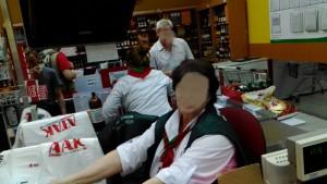 "Фото-фиксация процесса защиты прав потребителей в супермаркете ""АТАК"" Фото 1."