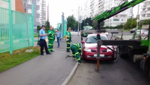 Фото-фиксация противоправных действий должностных лиц правительства Москвы, полученная при оказании бесплатной юридической помощи фото 3.