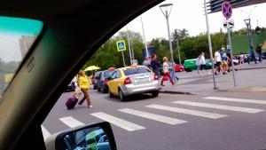 Очередная фото-фиксация систематических нарушений возле метро Щукинская. Фото 2, сделанная в рамках обращения в защиту прав потребителей услуг такси.