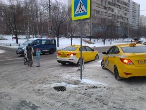 Хамство таксистов, так любимых правительством Москвы не знает предела.