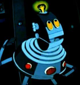 Изображение робота для публикации о юридических аспектах сосуществования человека с искусственным интеллектом.
